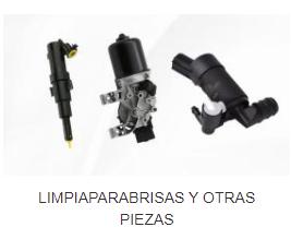 LIMPIAPARABRISAS Y OTRAS PIEZAS